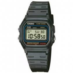 Reloj Casio W-591VU Vintage-Negro