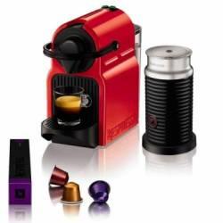 Máquina de Café Nespresso Inissia Pack Red