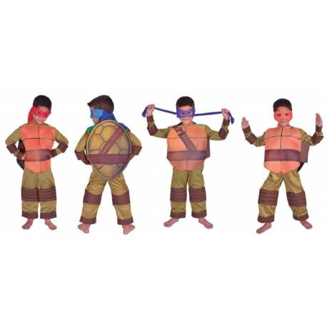 Disfraz Tortuga Ninja Talle 2