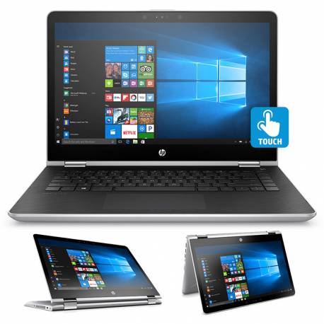 NOTEBOOK HP 1GR47LA I3 7100/X360/14/4GB/500GB