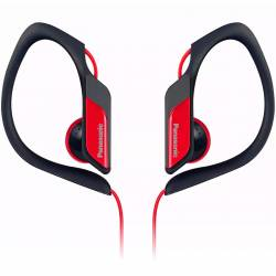 HEADPHONE PANASONIC HS34PP-R ROJO CLIP