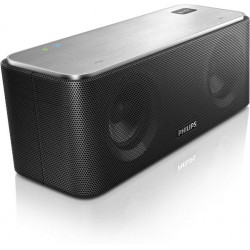 PARLANTE METALICO PHILIPS SB365/37 BLUETOOTH AAC Y NFC