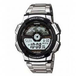 Reloj Casio AE1100WD1A-Plateado - MEN