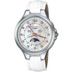 Reloj Casio SHE3045L-7A-Blanco - FEM