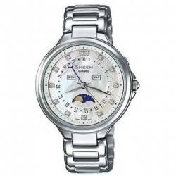 Reloj Casio SHE3044SG-7A-Plateado - FEM