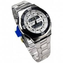 Reloj Casio AQ164WD-7A-Plata para Hombre