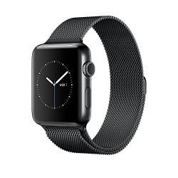 Apple - WATCH 2 42MM STAINLESS MILANESE LOOP