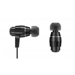 AURICULAR C/MIC IN EAR SENTEY ORYON BLACK LS-4215