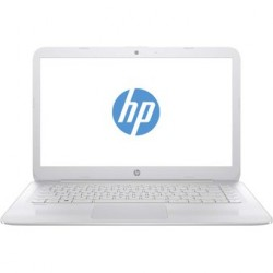 Notebook HP Stream 14-ax031la, Intel Celeron, Windows 10 Home, RAM 4 GB, DD 32 GB de 14''-Blanco