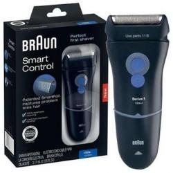 Afeitadora Braun 130 Serie 1 Smart Foil-Negro