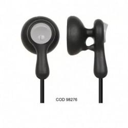 Auriculares In Ear Panasonic Rp-hv41 Ergonómicos-Negro