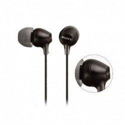 Auriculares In Ear Sony Mdr-ex15lp Fidelidad-Negro