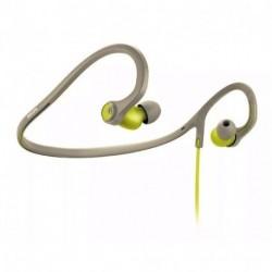 Auriculares Philips Shq4300 Sportfit Con Banda, Resistente Al Sudor-Verde