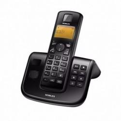 Teléfono Fijo Inalámbrico Noblex NDT2500-Negro