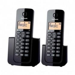 Kit 2 Teléfonos Inalámbricos Panasonic KX-TGB112-Negro