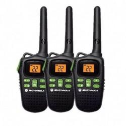 Kit 3 Handies Motorola MD200 32 Km-Negro