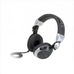 Auriculares Panasonic By Technics Dj1205 Cable Espiral Resiste Al Agua-Negro