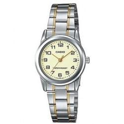 Reloj Casio LTPV001SG-9B-Plateado