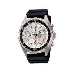 Reloj Casio AMW330-7A-Negro - Plateado para Hombre