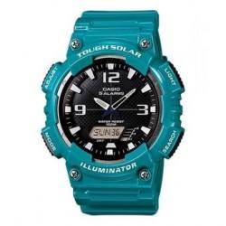 Reloj Casio AQS810WC-3A-Rojo - Plateado para Hombre