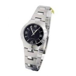 Reloj Casio LTP1241D-1A-Plateado - Negro para Mujer