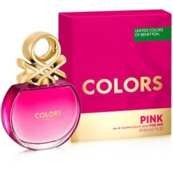 Colors Pink 80Ml EDT - Benetton