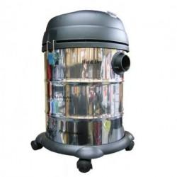 Aspiradora Sin Bolsa Ranser 30 Lts 1400 W Agua-polvo Acero