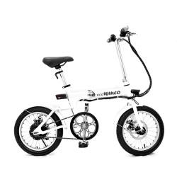 """Bicicleta Urbana Electrica Modelo W001 Rodado 16"""" Bateria Recargable"""