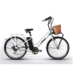 """Bicicleta Clasica Electrica Bateria Recargable Rodado 26"""""""