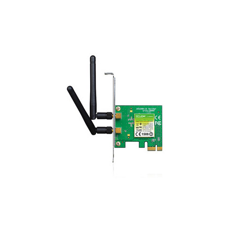 PLACA DE RED TP-LINK WIRELESS TL-WN881ND PCIE 300MBS 2ANT DESMONT.