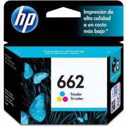CARTUCHO HP 662 TRICOLOR CZ104AL