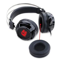 AURICULAR GAMER REDRAGON H301USB SIREN 2 - C/MIC. USB, CABLE 2MTS. MALLADO