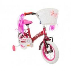 Bicicleta Rosa Philco Patio Rodado 12