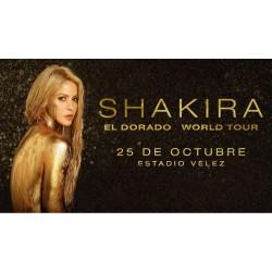 Paquete Shakira - 25 de Octubre