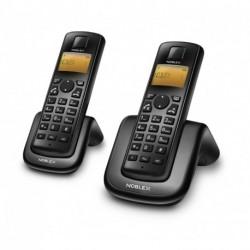 Telefono Inalámbrico TWIN con Manos Libres NOBLEX NDT2000TW