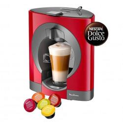 CAFETERA NESCAFE PV110558-ROJO DOLCE GUSTO MOULINEX OBLO CHERRY