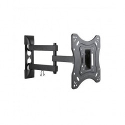 SOPORTE TV DOBLE BRAZO, MOVIBLE, INCLINABLE 20KG 23 a 42 ONEBOX OB-M24