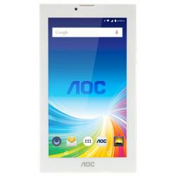 "TABLET. 7"" AOC 3G GOLD INTEL ATOM ANDROID 5.1 1GB 8GB CAMARA 0.3+2 MP"