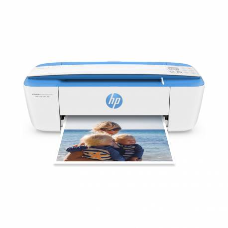 Impresora All in One HP Deskjet Ink Advantage 3775-Blanco con Azul